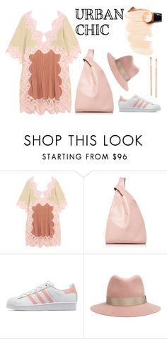 """Pink"" by erindream ❤ liked on Polyvore featuring Chloé, Hayward, adidas Originals, rag & bone and Lana"