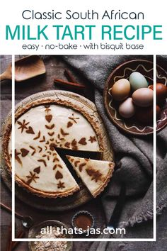 Easy Tart Recipes, Healthy Dessert Recipes, Delicious Desserts, Vegetarian Desserts, South African Desserts, Mini Fruit Tarts, Milk Tart, Berry Tart, Snacks Dishes