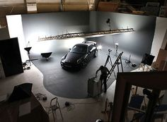 Got the room in your living room/ garage for this? Light rig with softbox setup to photograph cars :D
