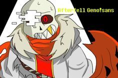 Afterfell!Geno by #Wolfthekid