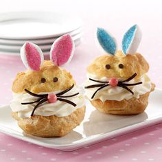 Bunny Cream Puffs from Land O'Lakes