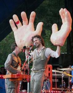 You know what they say about guys with big hands.