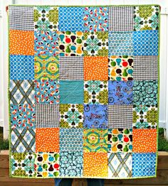 Inspiration for my scrap quilt!