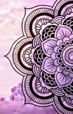 40 Simple Mandala Art Pattern And Designs - Free Jupiter Mandala Doodle, Mandala Art Lesson, Mandala Wallpaper, Mandala Artwork, Mandala Painting, Iphone Wallpaper, Wallpapers Android, Wallpaper Wallpapers, Doodle Art Drawing