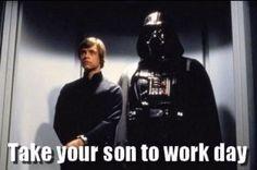 You Vader not embarress me.