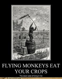 FLYING MONKEYS EAT YOURCROPS