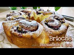 BRIOCHE ROSE MARMELLATA E NOCI ricetta facile BRIOCHE JAM AND WALNUT -Tutti a Tavola - YouTube Sweet Buns, Strudel, Biscotti, Cake Pops, Donuts, French Toast, Deserts, Brunch, Sweets