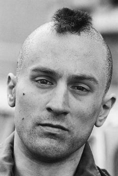 "Robert De Niro as Travis Bickle in ""Taxi Driver"" Movie Stars, Movie Tv, C G Jung, Martin Scorsese, Taxi Driver, Interesting Faces, Movie Characters, Best Actor, Famous Faces"