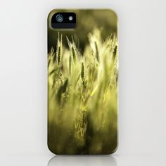 Summer Grass Portrait iPhone Case
