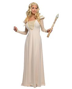 Oz The Great and Powerful Glinda Deluxe Adult Costume - Spirithalloween.com