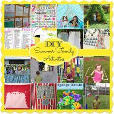 diy summer family activities  #DIY #Home #Garden #doityourself #instruction #instuctions #building #design #designs #instruction #idea #ideas #hobby