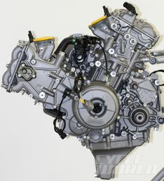 Ducati's 899 Superquadro engine. Via Cycleworld, Tech Analysis