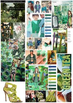 FASHION TRENDS SPRING SUMMER 2015 GREEN THEME