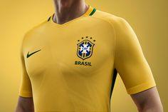 Brazil 2016 Home Jersey