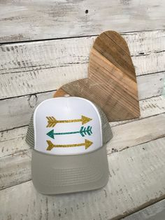 Arrow Trucker Hat, Arrow Hat, Tribal Arrow, Cute Hat, Cute Girls Hat ** ON SALE!!* by TruckerHatLove on Etsy