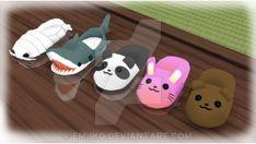 :MMD: Cute Slippers - DL by EM-IKO on DeviantArt