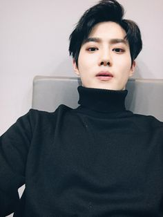 Suho - 161008 Official EXO-L website update Credit: Official EXO-L website.