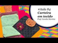 Patch & Arte com Lanmax - #aula84 - Carteira em tecido com bolso em zíper - YouTube Fabric Wallet, Zipper Pouch, Youtube, Patches, Make It Yourself, Purses, Sewing, Videos, Zip Purses