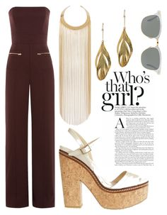 """Untitled #205"" by ashley-lanette-hays on Polyvore featuring Maison Margiela, Jimmy Choo, Aurélie Bidermann, Balmain and Ray-Ban"