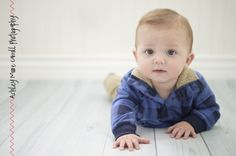 ashley moore carroll photography | children | six month old | six month poses |