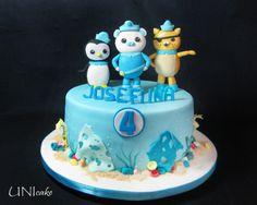 C53.  Oktonautit-kakku.  Octonauts cake