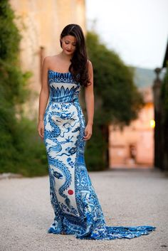 vintage Roberto Cavalli; I've always been obsessed with this dress