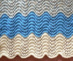 Knit Baby Blanket - Yarn Lover's Room - Knit One, Purl Two. Repeat