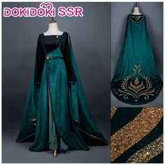 The costume will come out on June Princess Anna Dress, Anna Dress Frozen, Disney Princess Dresses, Queen Dress, Diy Cinderella Costume, Cinderella Gowns, Anna Costume, Frozen Costume, Elsa Fancy Dress