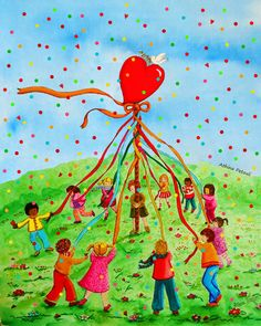 Paper Crafts, Diy Crafts, Illustrations And Posters, Painting For Kids, Spring Crafts, Kite, Diy Tutorial, Tinkerbell, Good Morning