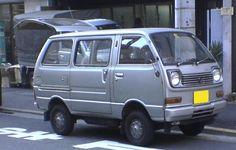 1971-1981 Daihatsu Hijet S40 Van
