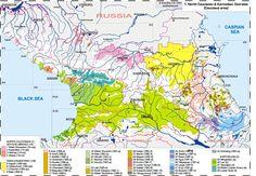 """caucasus ethnic map - """"Google"""" paieška"""