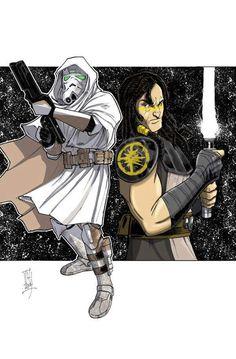 Commander Faie & Quinlan Vos