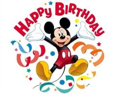 Happy Birthday Mickey Mouse Cake With Name