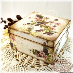 Discover thousands of images about Decoupage box