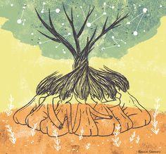 54 Ideas womens illustration powerful for 2019 Mandala Art, Mandala Lunar, Psychedelic Art, Happy Hippie, Sacred Feminine, Feminist Art, Hippie Art, Illustration, Art Inspo