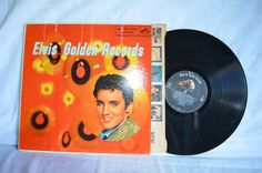 Elvis Presley Golden Records Record LP RCA by FloridaFinders, $85.00
