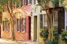 Tradd Street, Charleston, SC. See all the history that is still here.