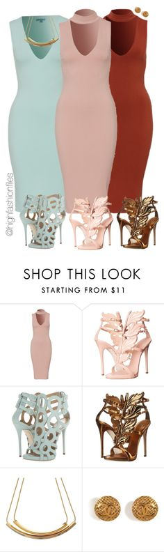 """""""Which Fits You?"""" by highfashionfiles ❤ liked on Polyvore featuring Giuseppe Zanotti and Chanel"""
