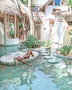 21 beautiful ideas for the design of the swimming pool garden 4 - Reisen - # . The Places Youll Go, Places To Go, Dream Pools, Destination Voyage, Beautiful Places To Travel, Romantic Travel, Wonderful Places, Dream Vacations, Dream Vacation Spots