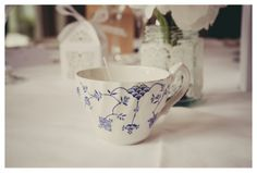 Vintage tea cup candle Mckenzie Brown Photography » Wedding Photography Blog