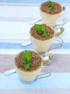 Mousse de Lúcuma | Espacio Culinario Mousse, Health Benefits, Panna Cotta, Pudding, Cooking, Ethnic Recipes, Desserts, Food, Gourmet