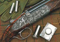 I love a nicely engraved shotgun.