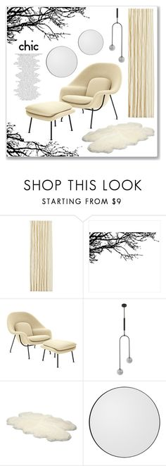 """""""CHIC"""" by mariarty ❤ liked on Polyvore featuring interior, interiors, interior design, home, home decor, interior decorating, UGG Australia and AYTM"""