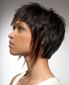 short funky face framing hairstyles - Google Search