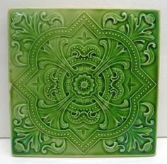 Antique Sacavem Victorian Tile | eBay
