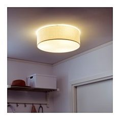 Diffused light that provides good general light in the room.