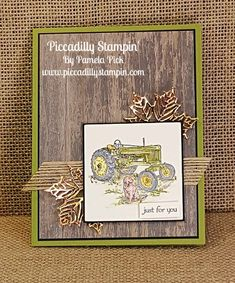 I'm a creative coach where you can learn techniques and tips to improve you craft projects. Masculine Birthday Cards, Birthday Cards For Men, Masculine Cards, Tractor Birthday, Guy Birthday, Horse Cards, Travel Cards, Get Well Cards, Fall Cards
