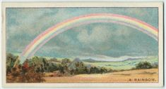 Do you know what causes the rainbow? From New York Public Library Digital…