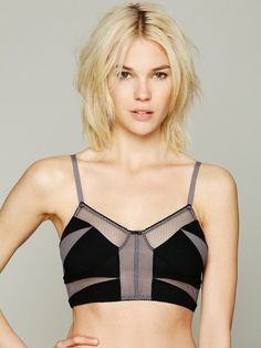 Mesh Crop at Free People Clothing Boutique