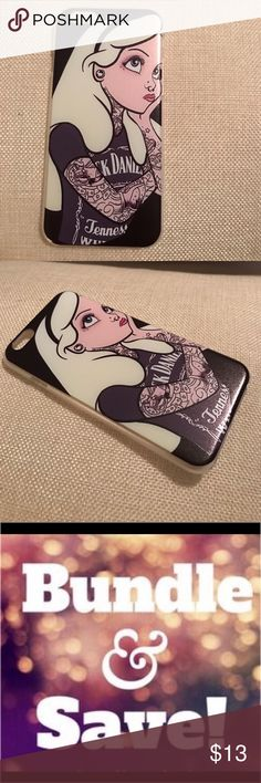 Alice in wonderland tattoos iPhone 6 case cover Alice in wonderland tattoos tatted iPhone 6 hard case cover ✌🏻 DONT MISS OUT you will luv it-- I offer bundle item discounts and ship super fast 🏃🏼♀️**please don't send low offers this is already reasonably priced , plus keep in mind Poshmark deducts selling fees,  leaving sellers like me not much after sale 💰🙁 Accessories Phone Cases